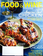 Food & Wine September 2013 cover