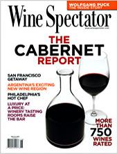 Wine Spectator November 15, 2008 cover