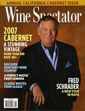 Wine Spectator November 15, 2010 cover