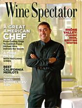 Wine Spectator November 30, 2009 cover
