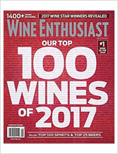 Wine Enthusiast - Best of Year 2017
