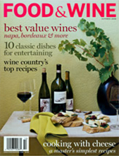 Food & Wine October 2008 cover