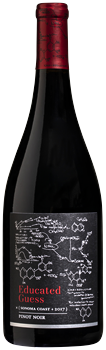 Educated Guess Sonoma Coast Pinot Noir 2017 bottle image