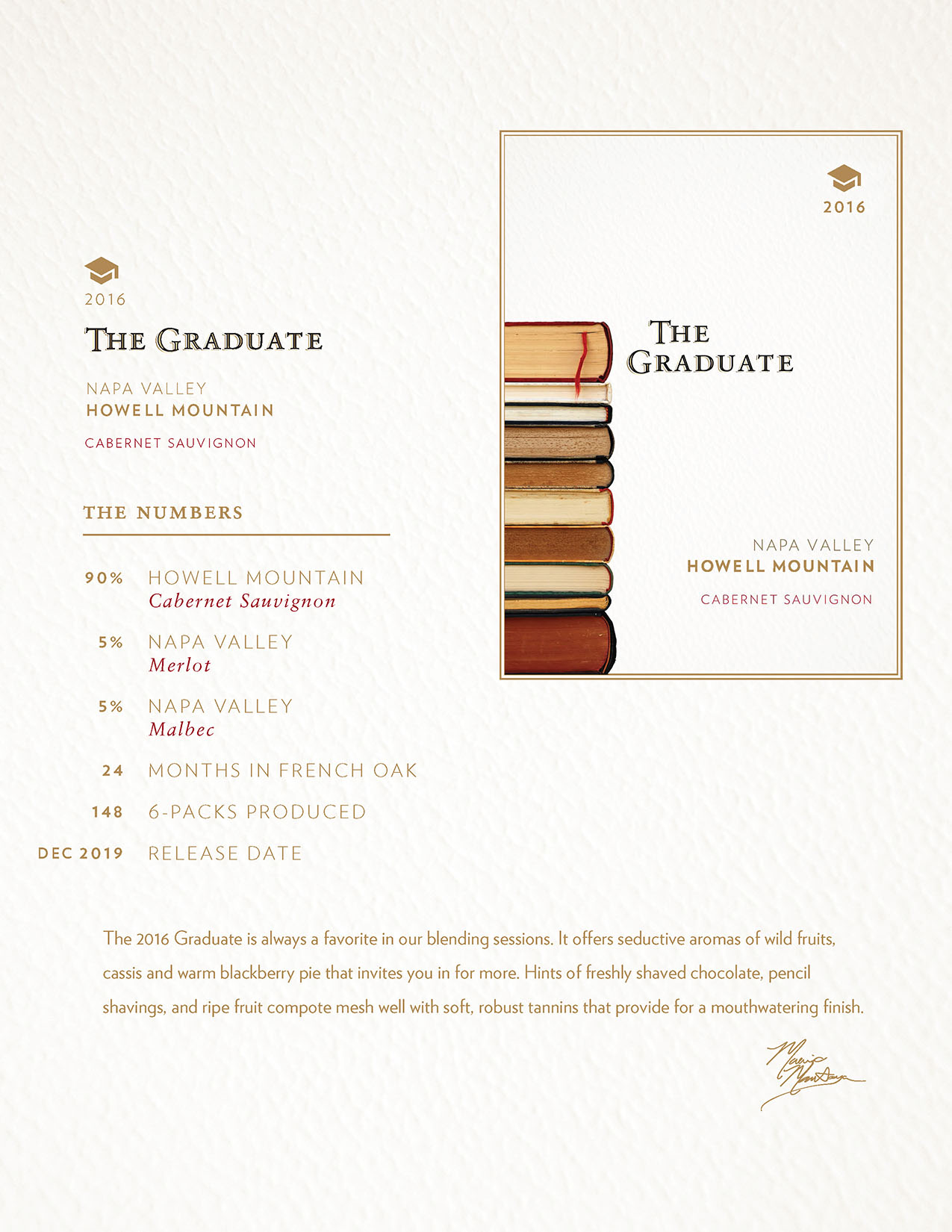 2016 The Graduate Tech Sheet